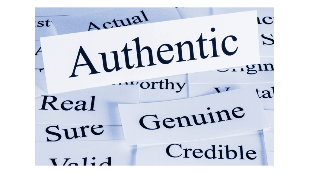 Authentic leadership and vision meaning